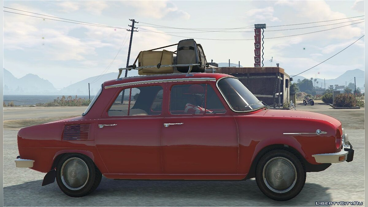 Машина Skoda Škoda 100 (1969-1977) [Add-On] and [Replace] 1.0 для GTA 5