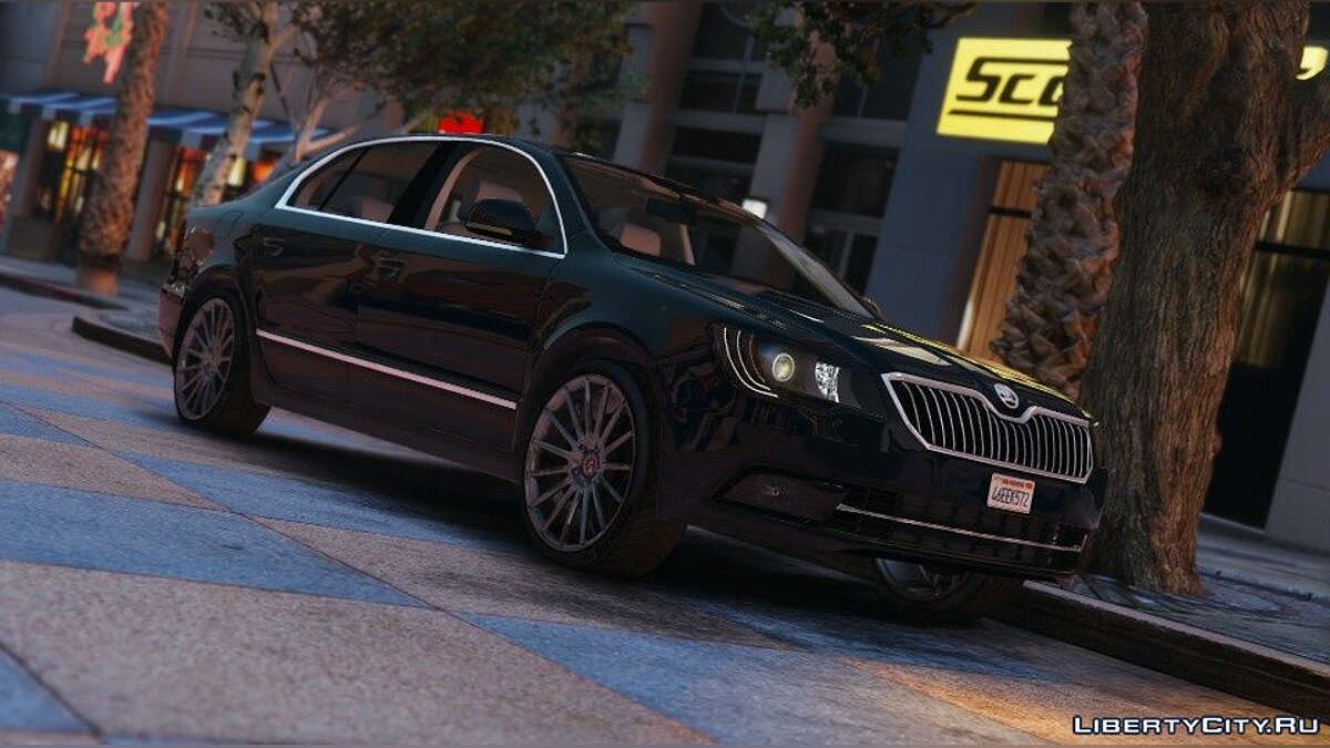 Машина Skoda 2014 Škoda Superb [Add-On / Replace] 1.4 для GTA 5