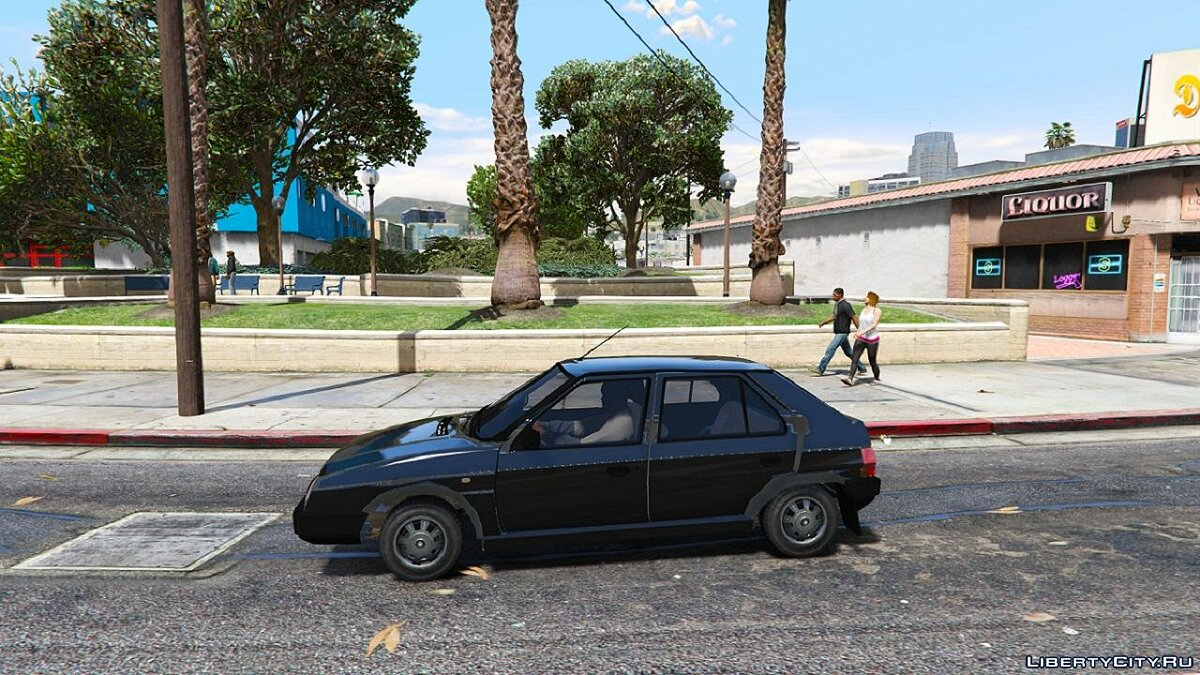 Машина Skoda Skoda Favorit 1.0 для GTA 5