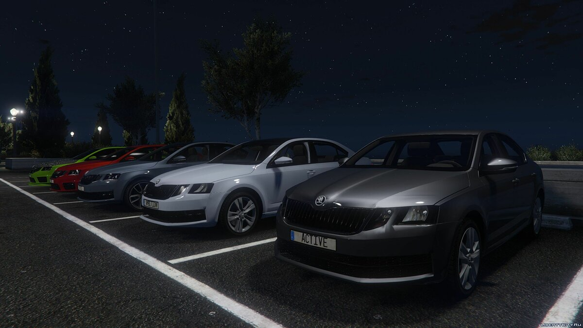 Машина Skoda Skoda Octavia Ambition/Active/Style/VRS [HQ | Add-On | Tuning] для GTA 5
