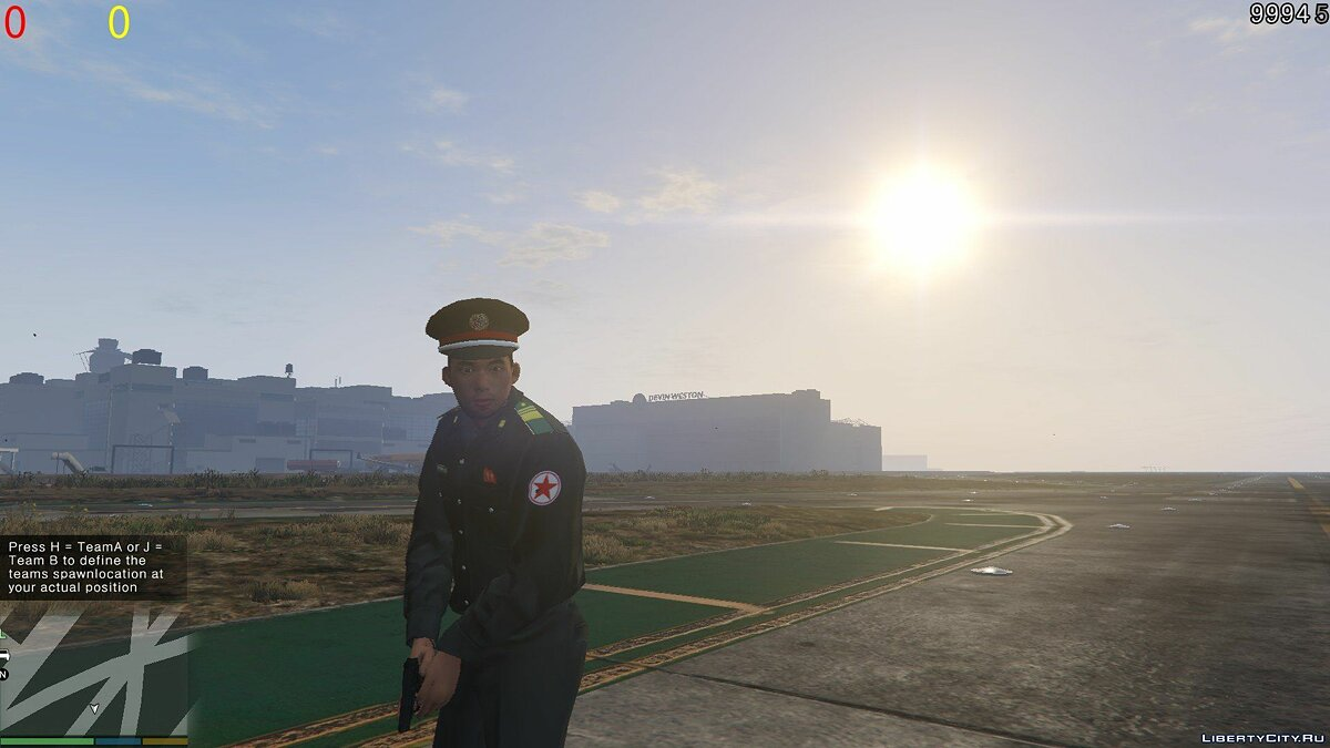 North Korean Police Officer 1.0 для GTA 5