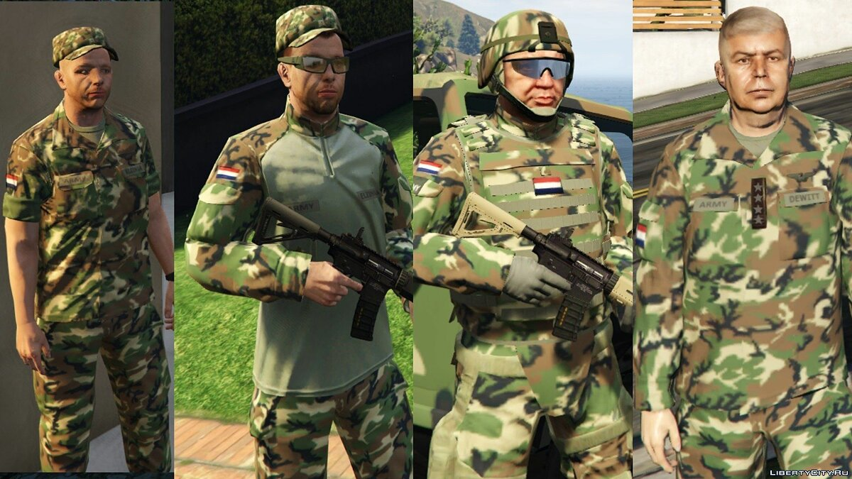 Dutch Army 1.0 для GTA 5