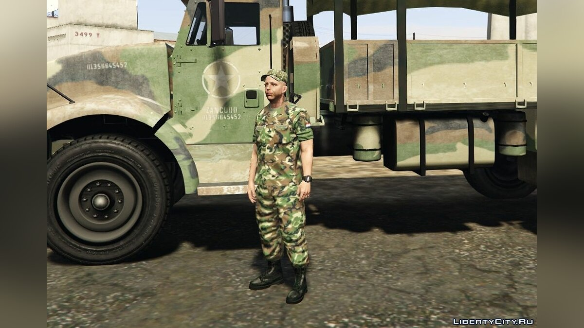 Dutch Army 1.0 для GTA 5 - скриншот #4