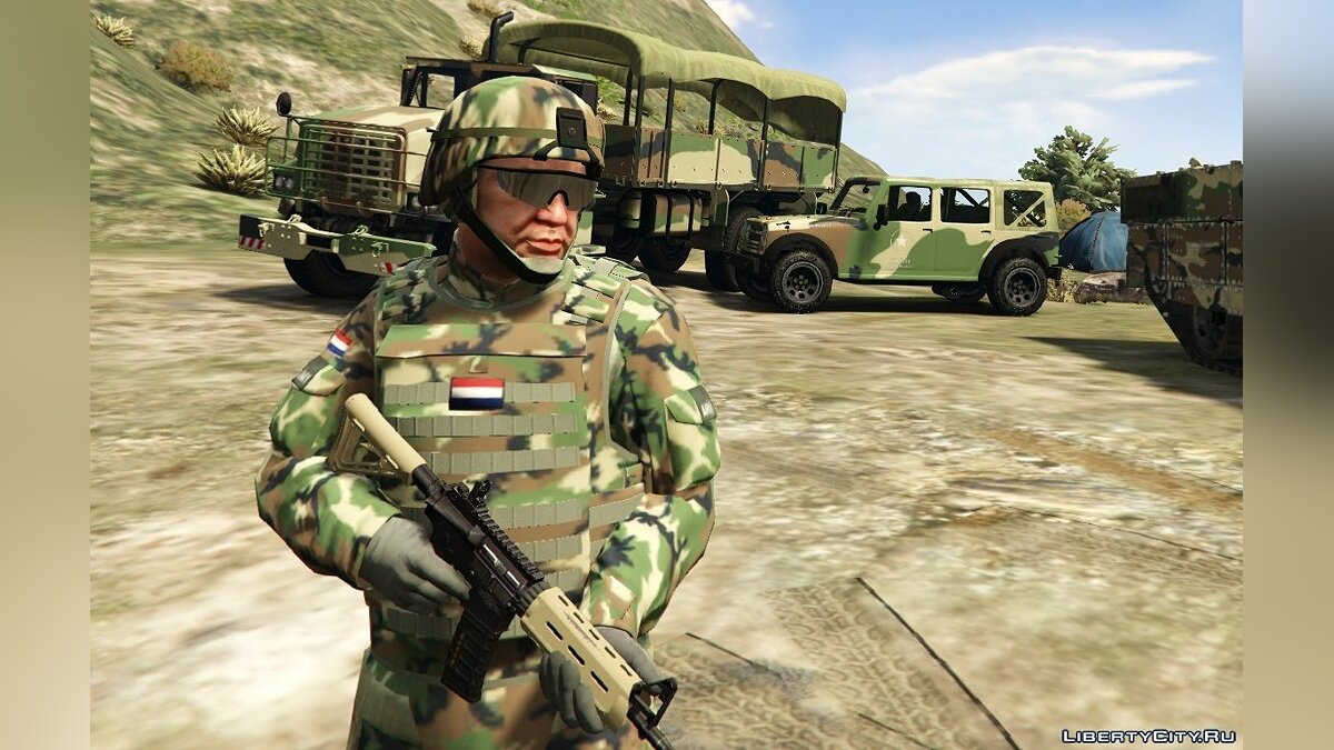 Dutch Army 1.0 для GTA 5 - скриншот #3