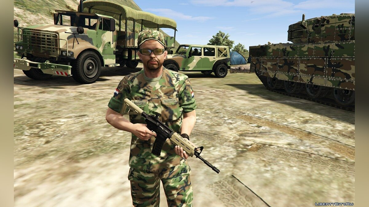 Dutch Army 1.0 для GTA 5 - скриншот #2