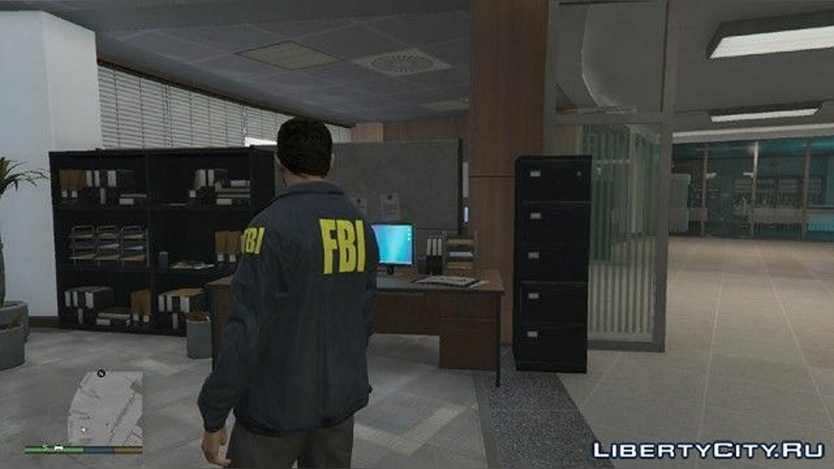 Classic FBI outfit (San Andreas Style) v0.3 для GTA 5