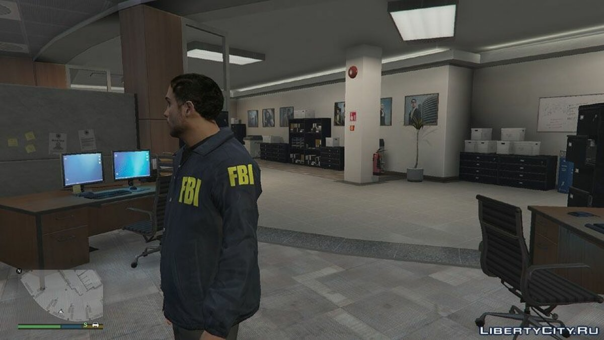 Classic FBI outfit (San Andreas Style) v0.3 для GTA 5 - скриншот #2