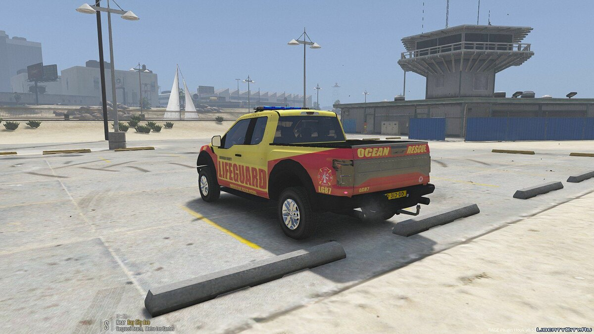 ��ашина Baywatch F150 Truck (From 2017 Movie) [ELS] 1.0 для GTA 5