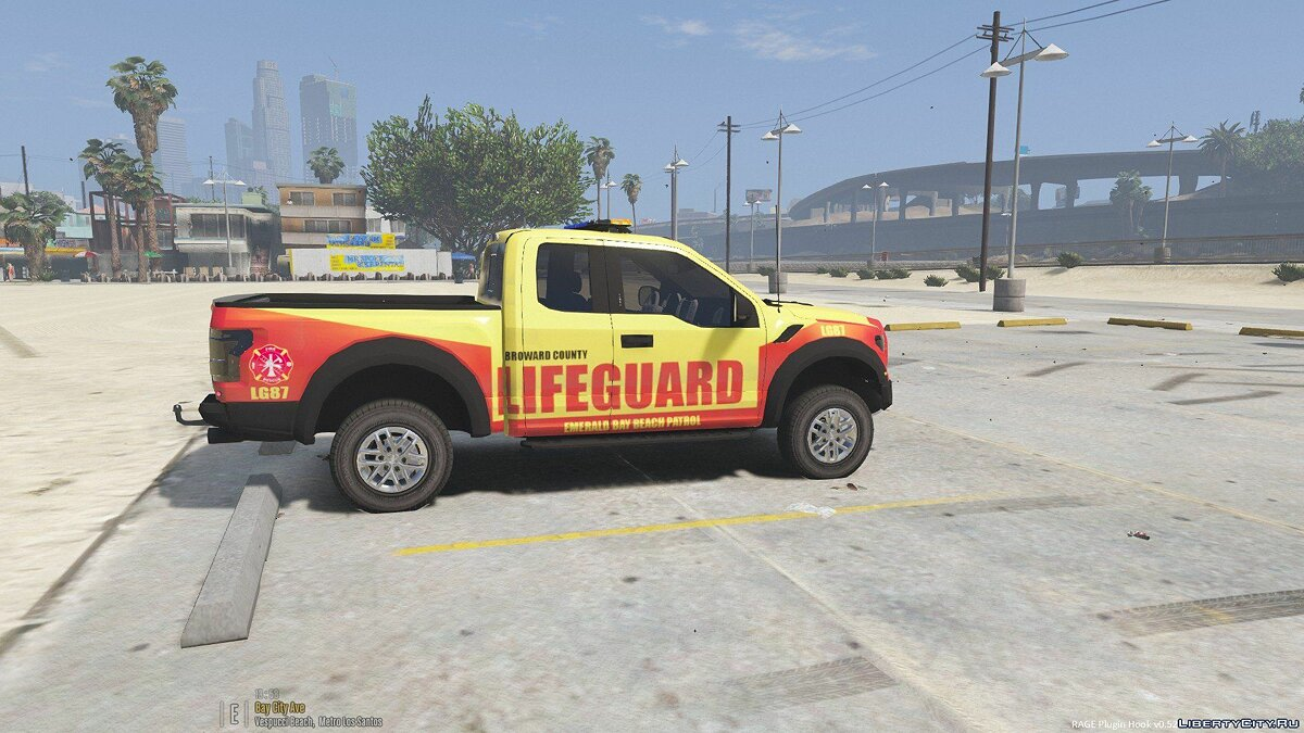 Машина Baywatch F150 Truck (From 2017 Movie) [ELS] 1.0 для GTA 5