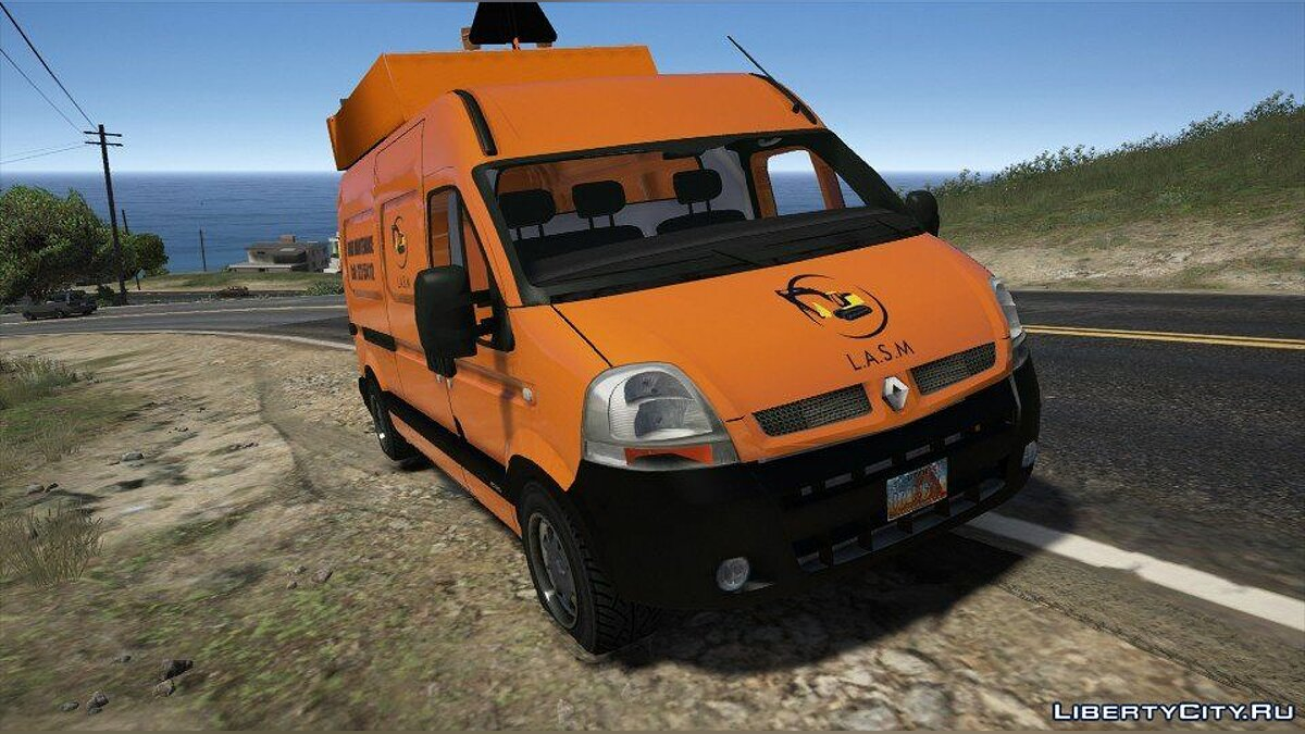 Renault Master Street Maintenance [Add-On / Replace | Extras] 1.0 для GTA 5