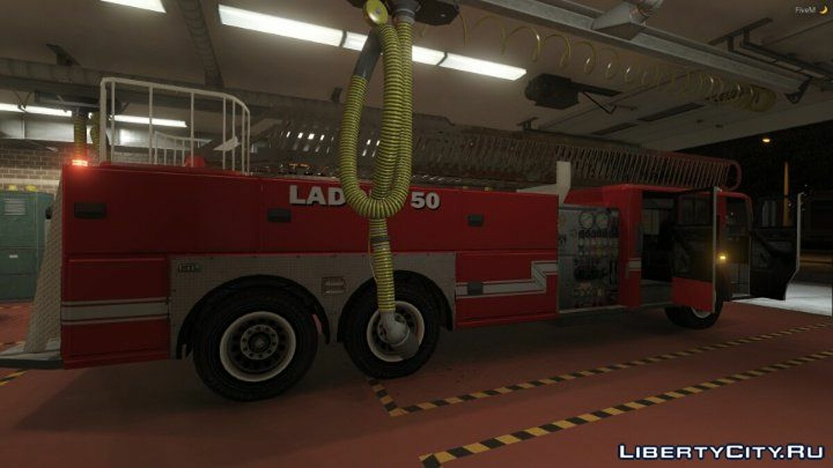��ашина MTL Ladder Truck 1.2 для GTA 5