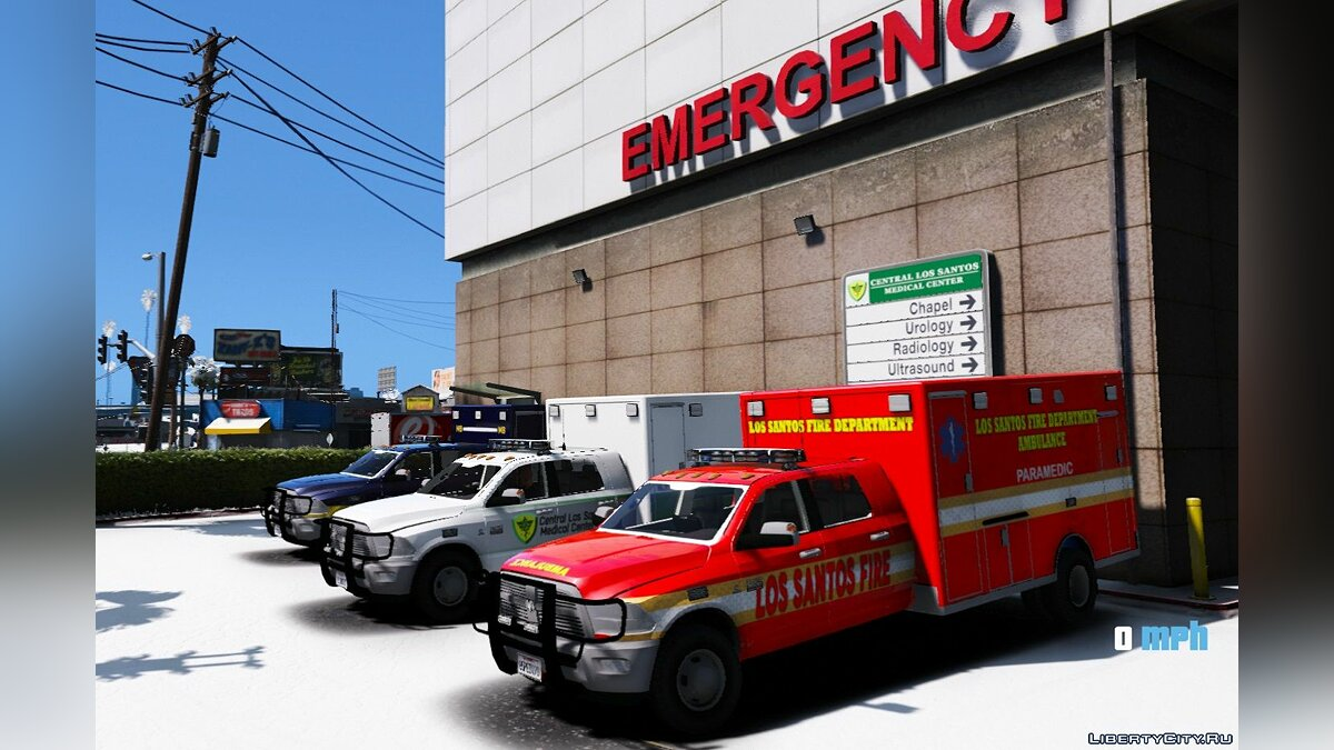 Dodge 3500 Quad Cab Ambulance 1.00 для GTA 5