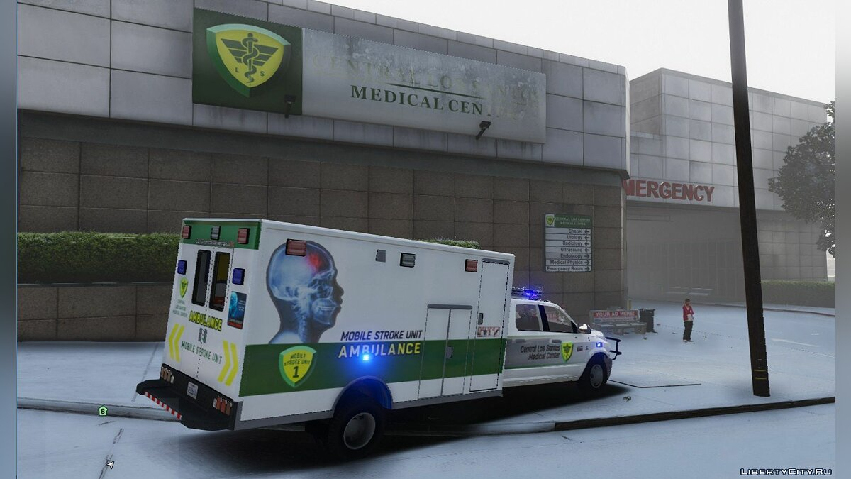 Dodge 3500 Quad Cab Ambulance 1.00 для GTA 5 - скриншот #2