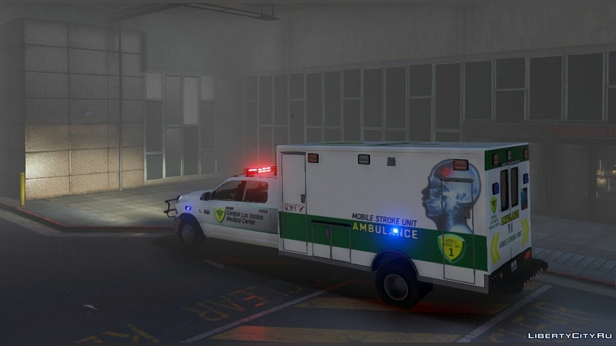 Dodge 3500 Quad Cab Ambulance 1.00 для GTA 5 - скриншот #3