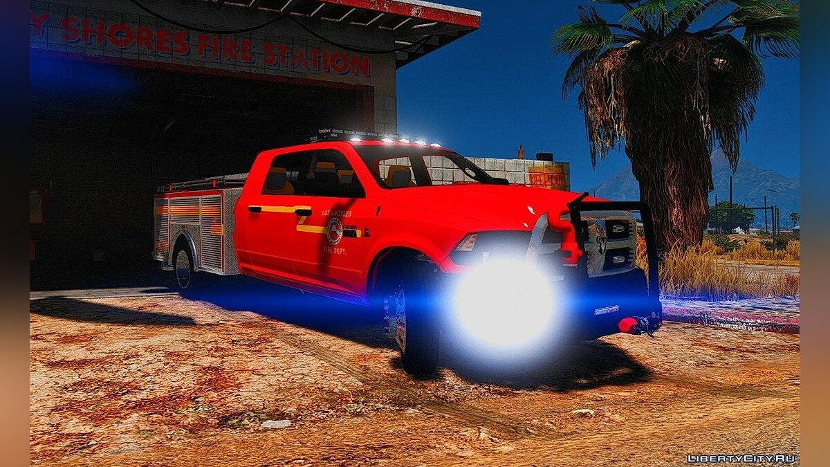 2015 Dodge Ram 3500 Brush Truck 1.0 для GTA 5