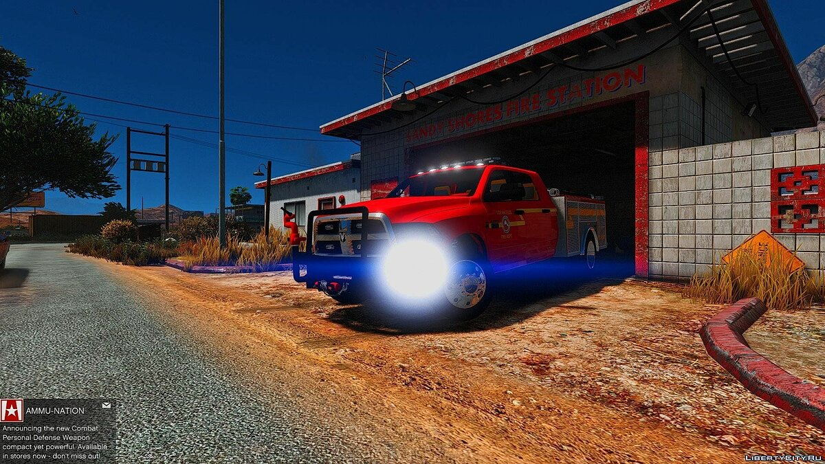 2015 Dodge Ram 3500 Brush Truck 1.0 для GTA 5 - скриншот #4