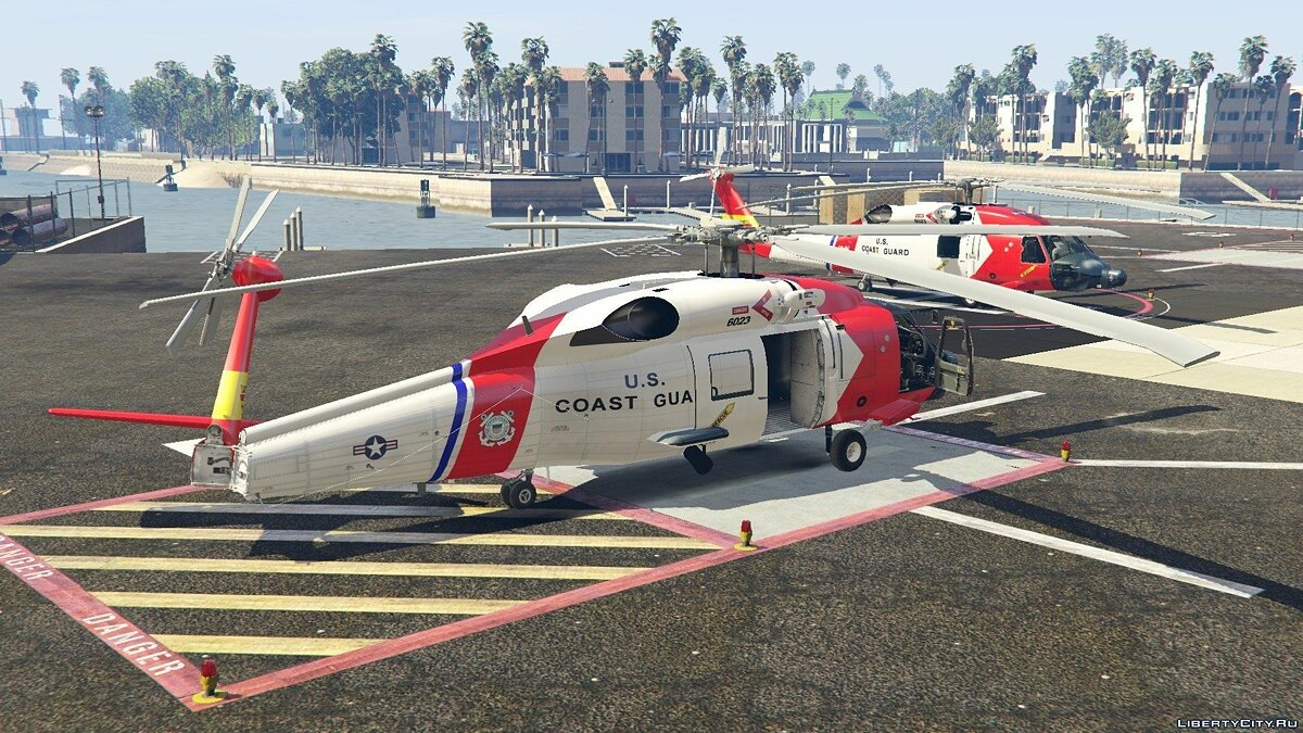 MH-60T Jayhawk US Coast Guard для GTA 5 - скриншот #4
