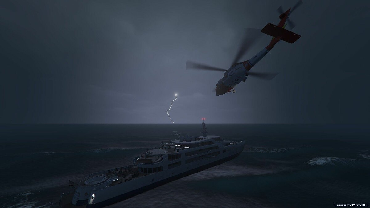 Машина MH-60T Jayhawk US Coast Guard для GTA 5