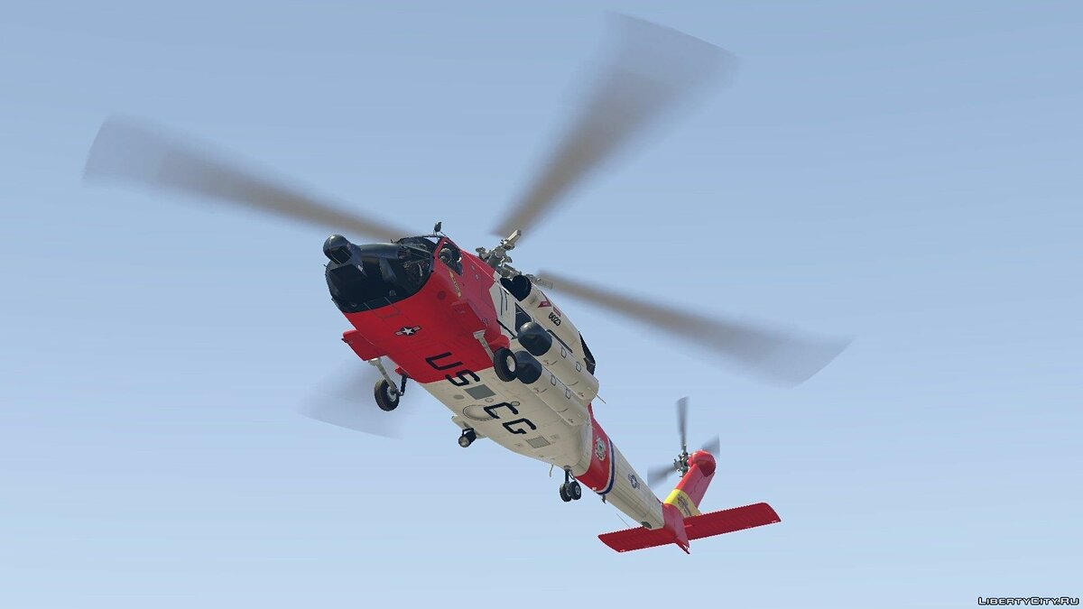 MH-60T Jayhawk US Coast Guard для GTA 5 - скриншот #3