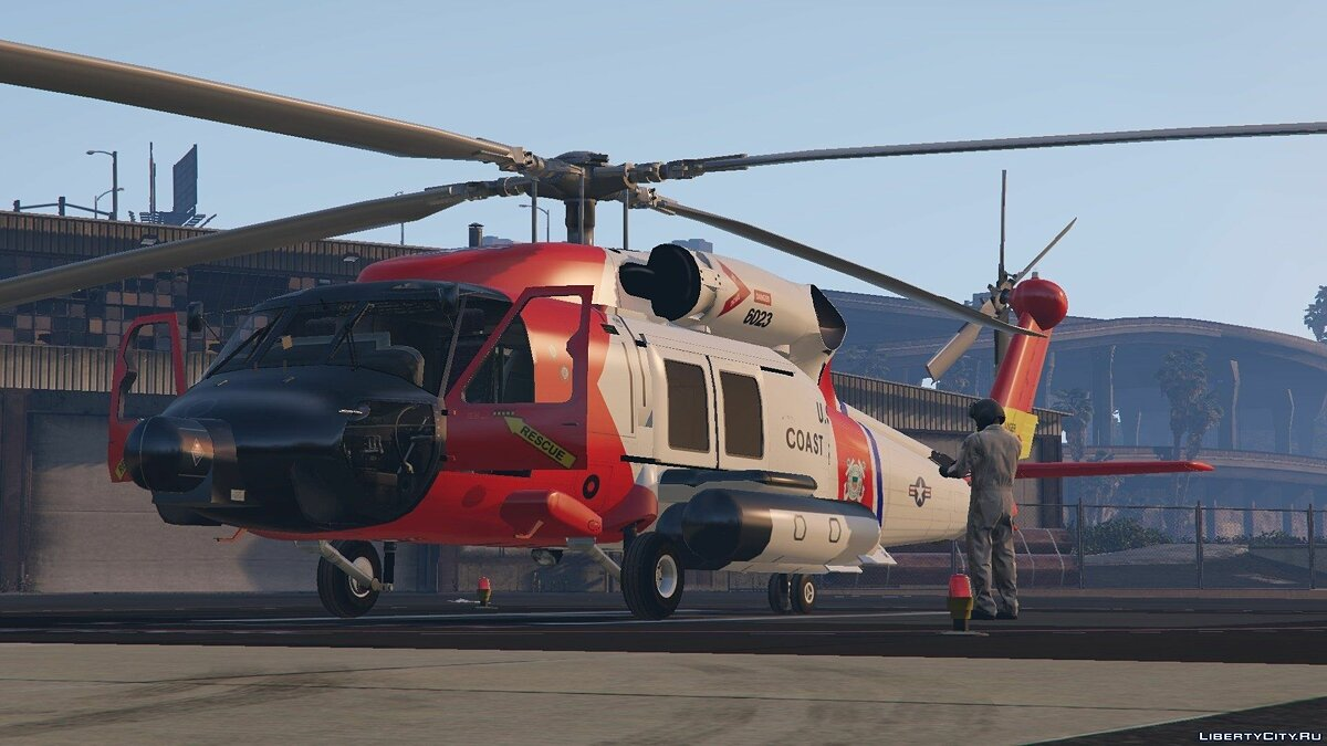 MH-60T Jayhawk US Coast Guard для GTA 5