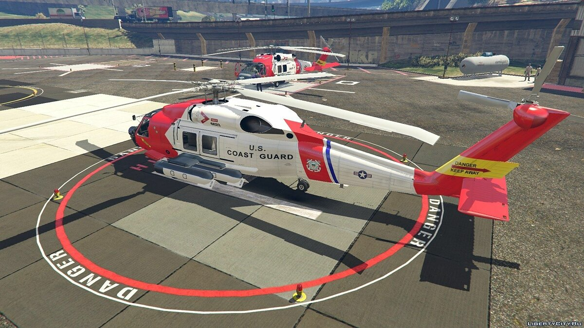 MH-60T Jayhawk US Coast Guard для GTA 5 - скриншот #9