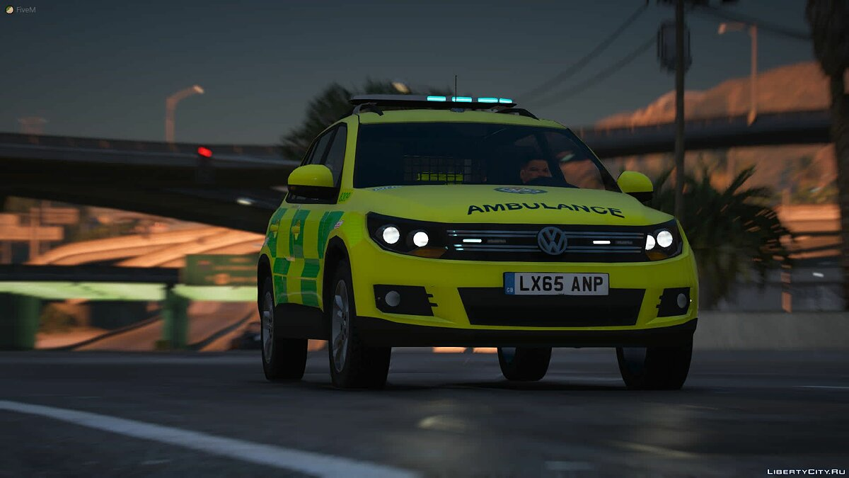 Машина London Ambulance Service VW Tiguan RRV 2015 1.0 для GTA 5