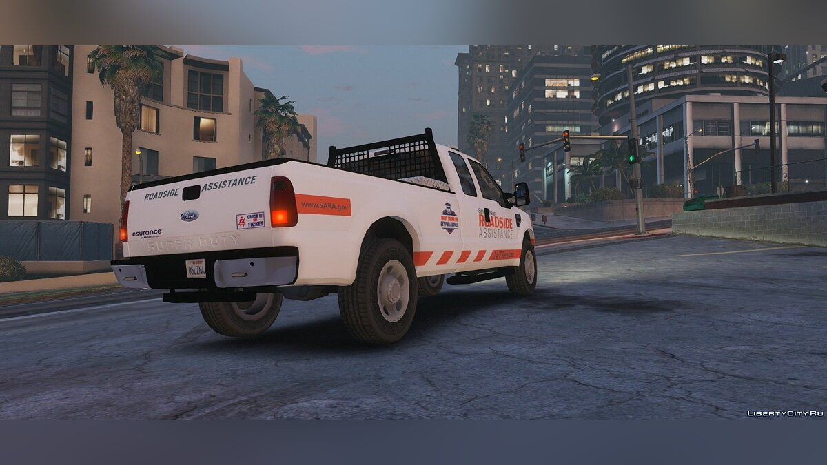 Машина [ELS] Roadside Assistance V | Service Vehicle (F-350) 1.0 для GTA 5
