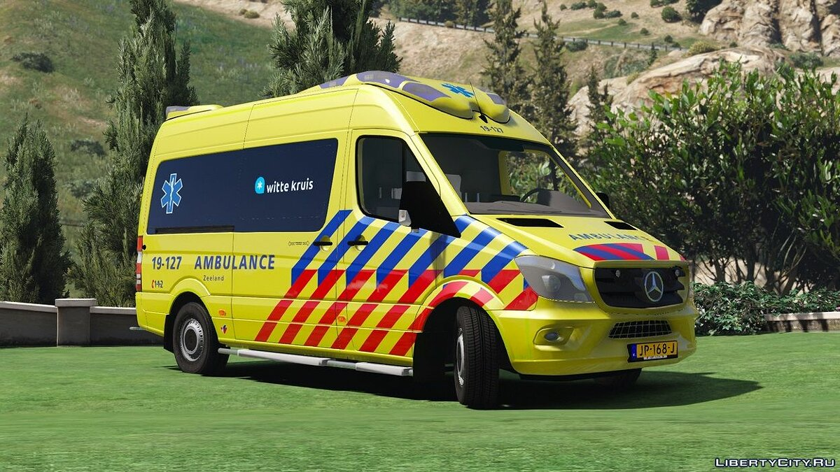 ��ашина [ELS] Mercedes-Benz Sprinter Otaris 1.0 для GTA 5