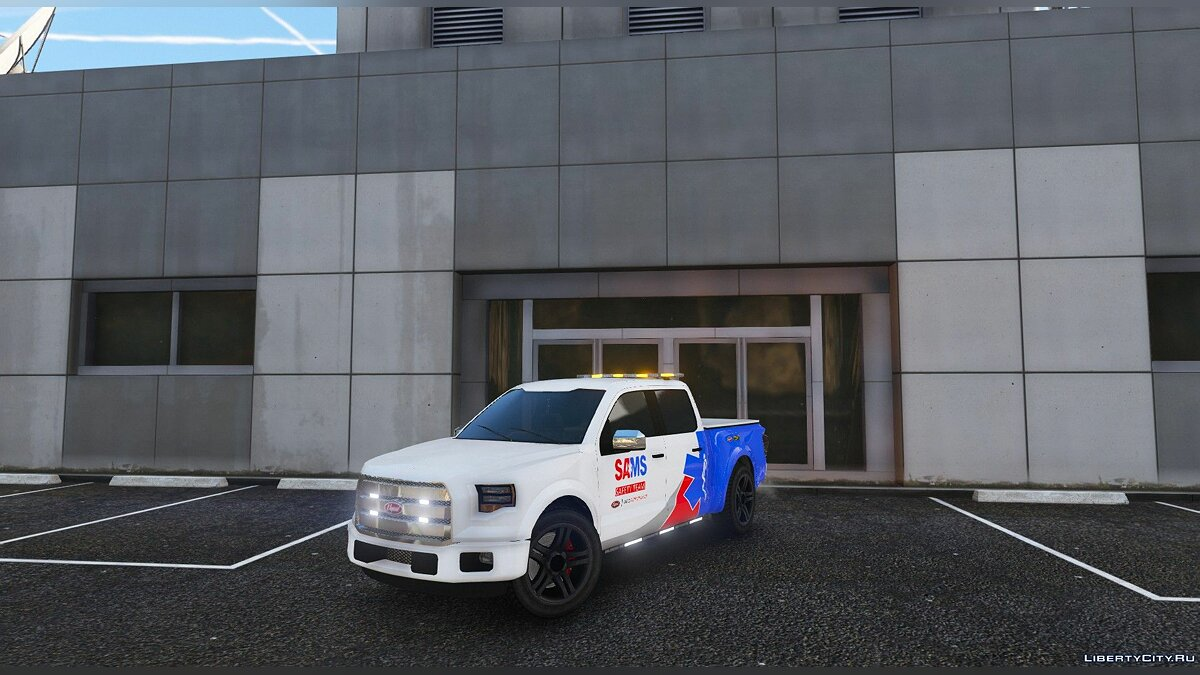 Машина SAMS Safety Team Caracara v1.1 для GTA 5