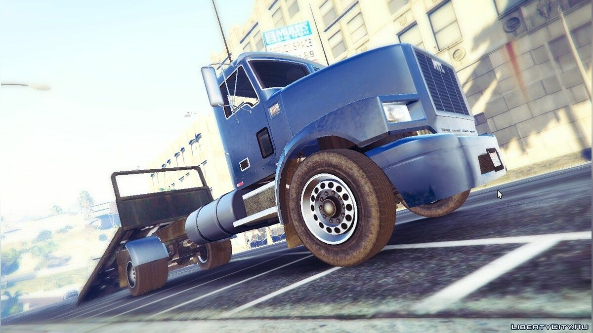 ��ашина MTL Flatbed Tow Truck [Add-On | Wipers] 2.0 для GTA 5