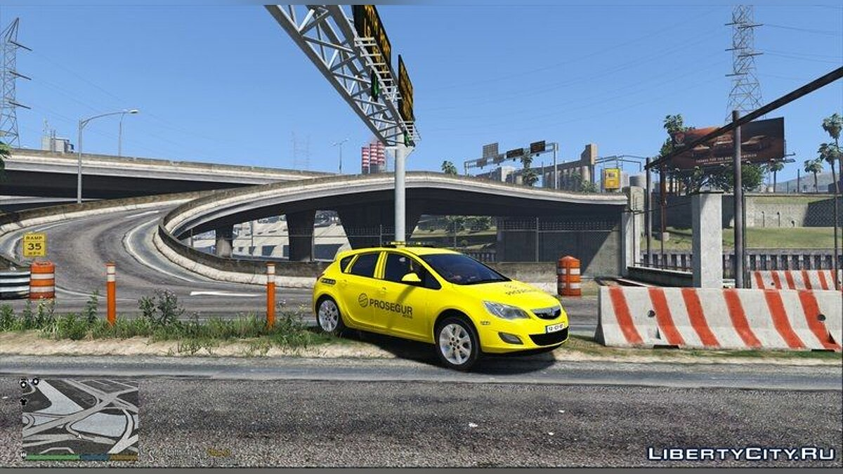 Portuguese Security Dilettant2 - Opel Astra для GTA 5