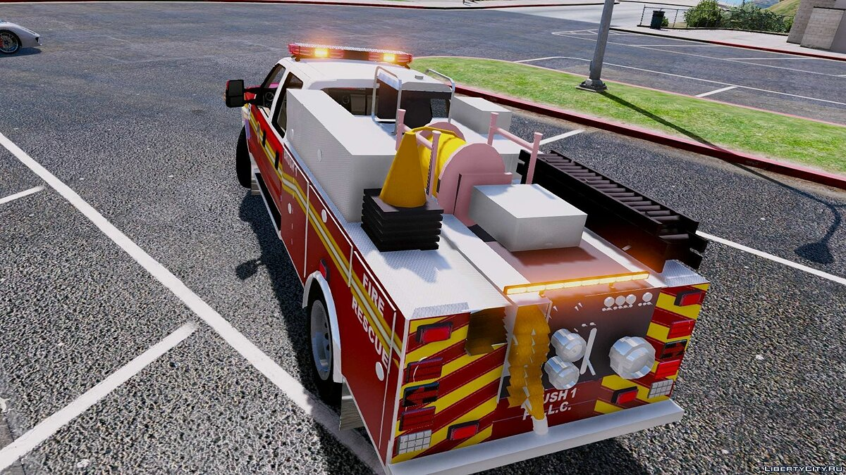 Ford F250 FDNY Brush Truck [ELS] [BETA] для GTA 5 - Картинка #3
