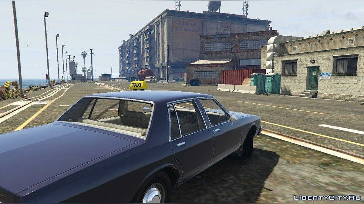 1989 Chevrolet Caprice - Taxi Version 1.0 для GTA 5 - скриншот #2