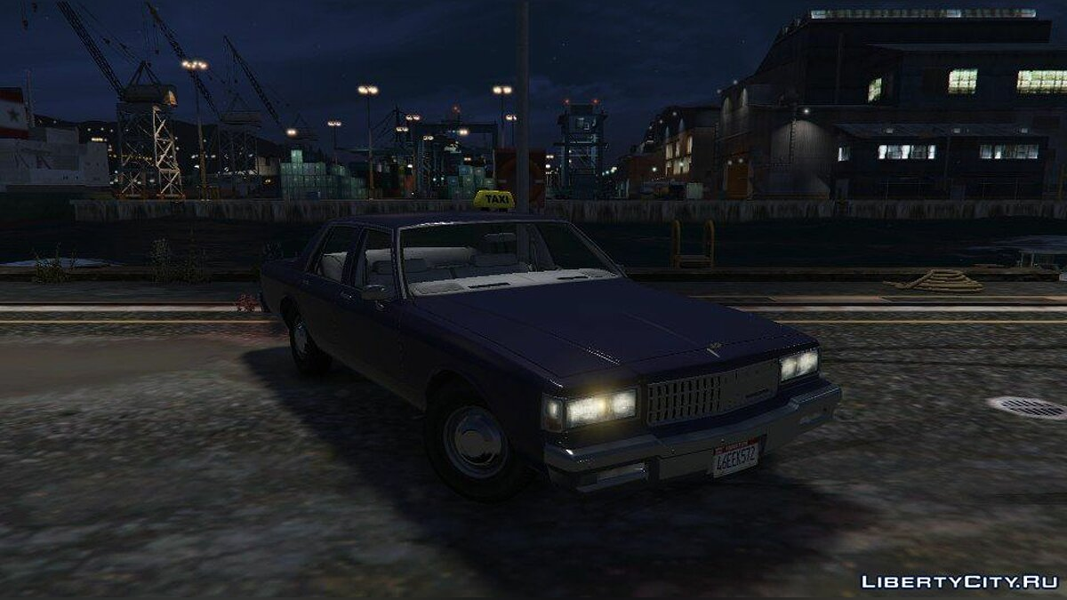 1989 Chevrolet Caprice - Taxi Version 1.0 для GTA 5 - скриншот #5