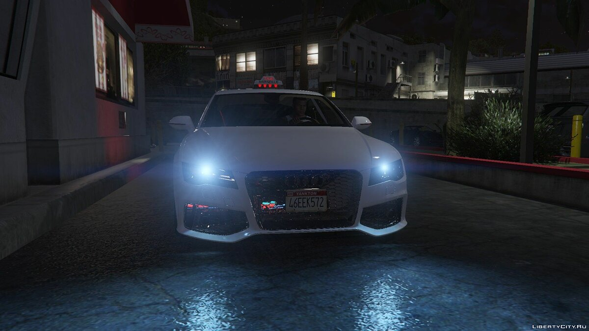 Audi RS7 French Taxi 1.0 для GTA 5