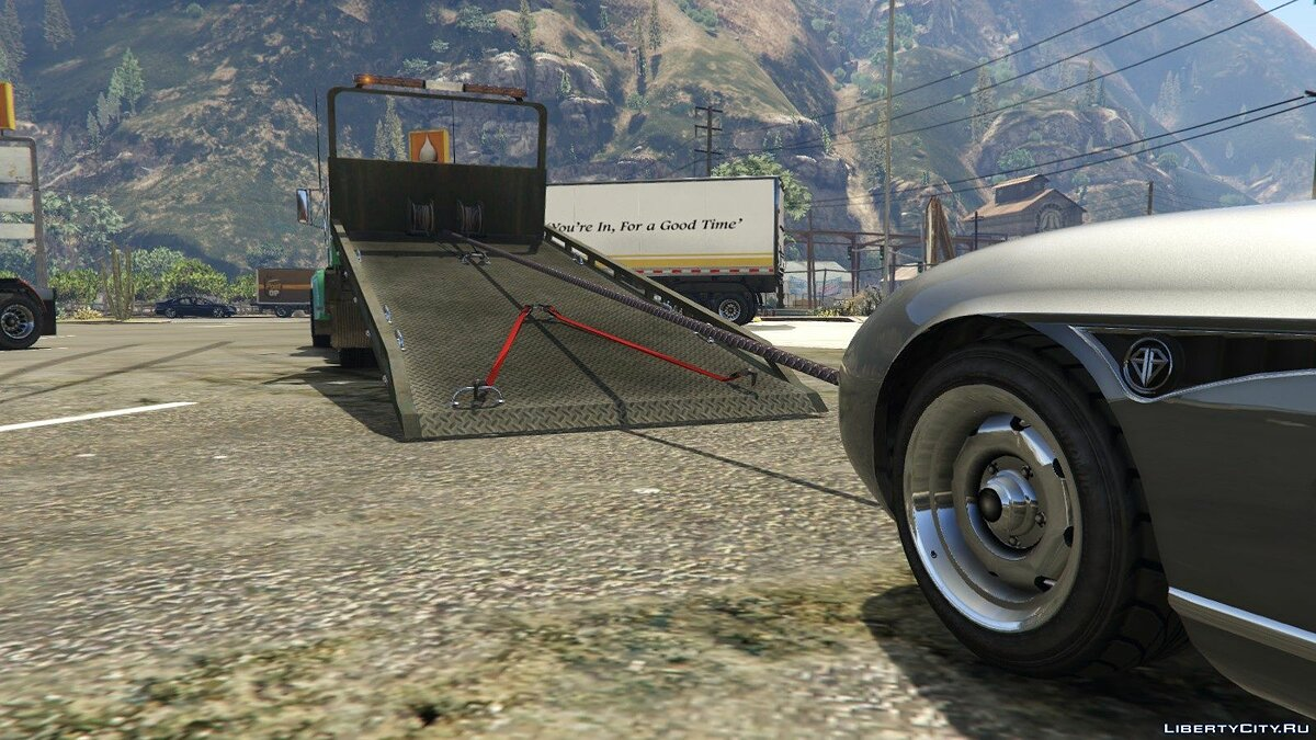 MTL Flatbed Tow Truck [Add-On/OIV | Liveries | Template] 5.0 для GTA 5 - скриншот #5