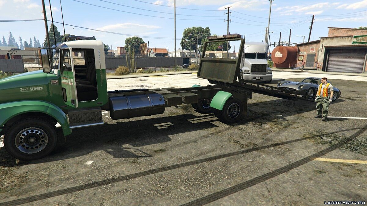 MTL Flatbed Tow Truck [Add-On/OIV | Liveries | Template] 5.0 для GTA 5 - скриншот #3