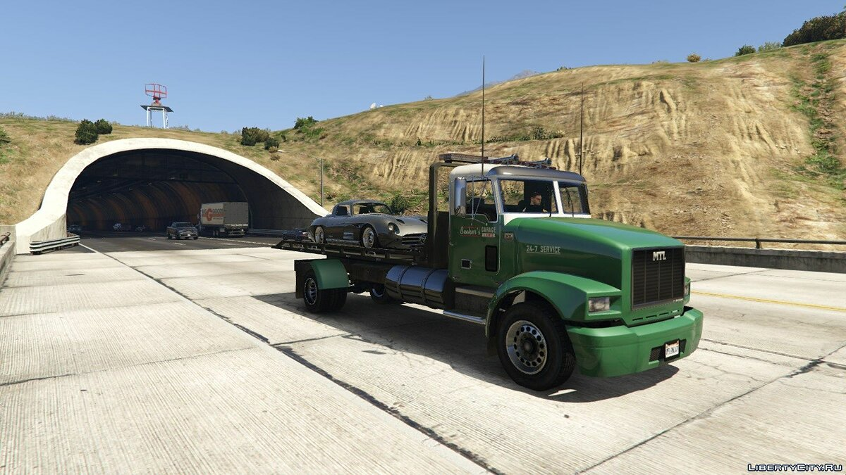 MTL Flatbed Tow Truck [Add-On/OIV | Liveries | Template] 5.0 для GTA 5