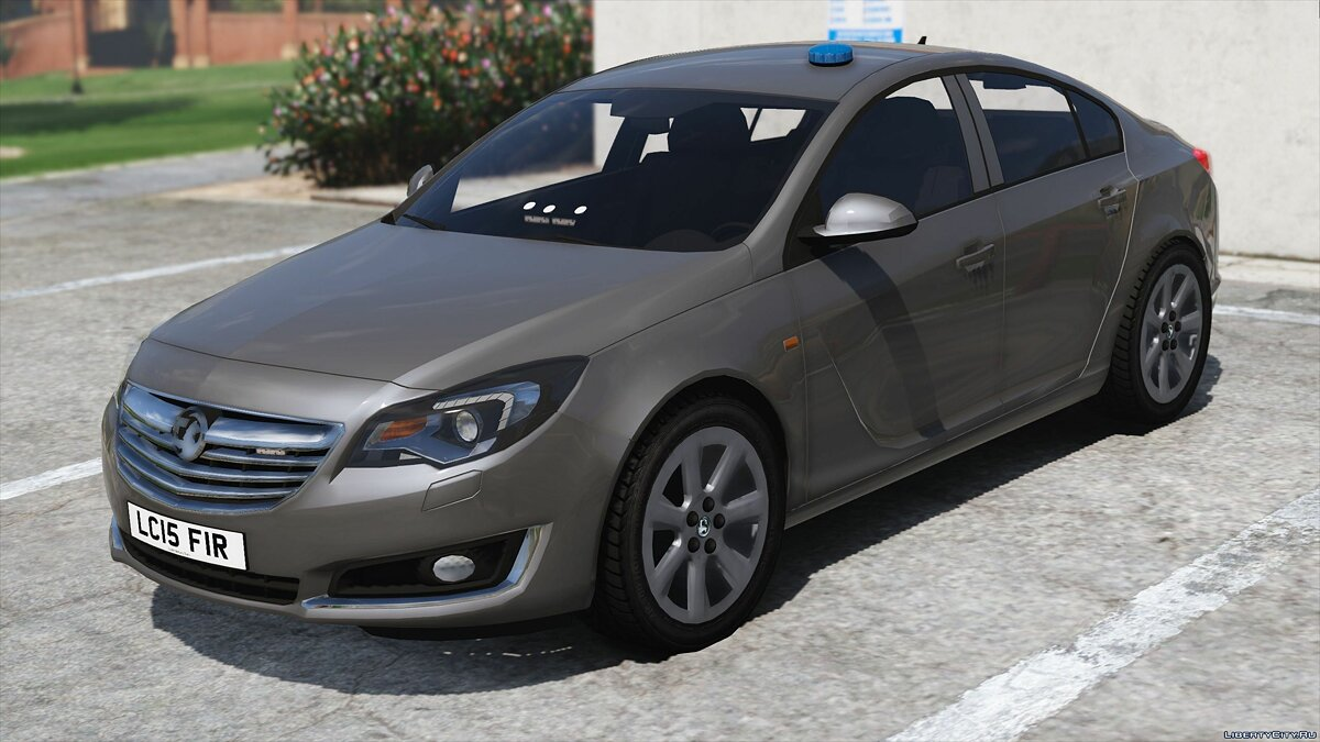 Машина 2015 Vauxhall Insignia Fire Officers Car [ELS] 1.0 для GTA 5