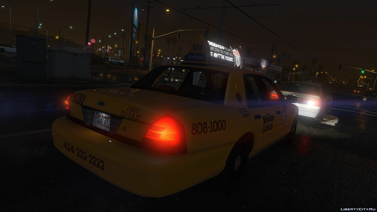 1999 Ford Crown Victoria Taxi для GTA 5 - скриншот #6