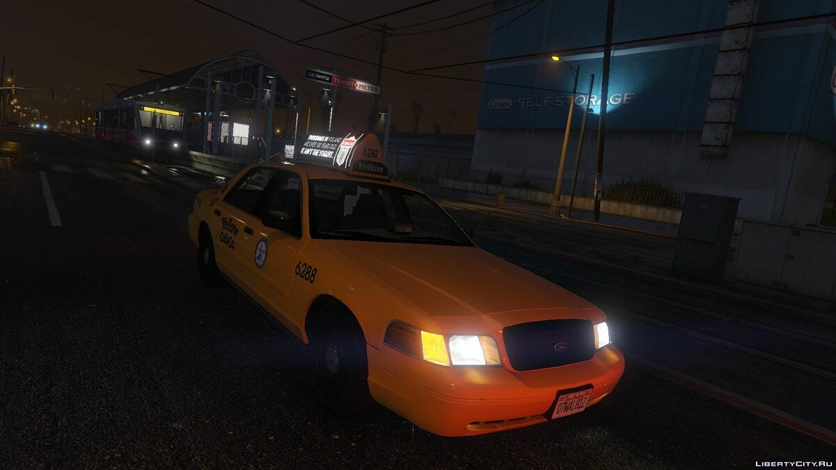 1999 Ford Crown Victoria Taxi для GTA 5