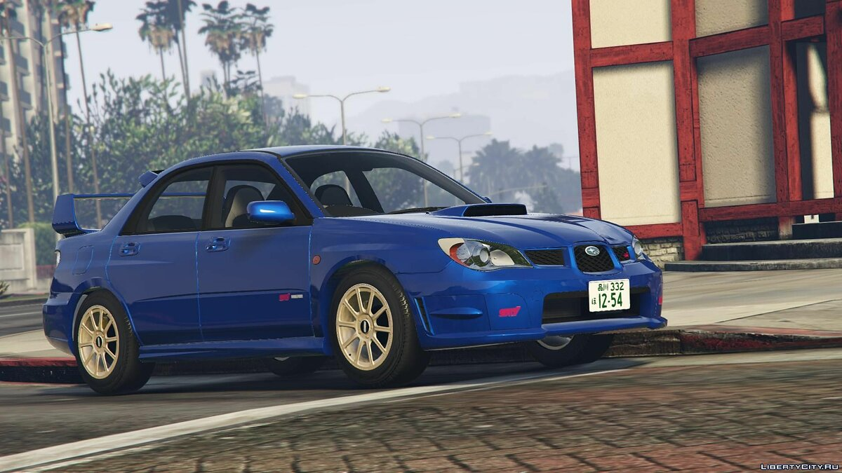 Машина Subaru 2006 Subaru Impreza WRX STi [Add-On | RHD | Tuning] v2.0 для GTA 5