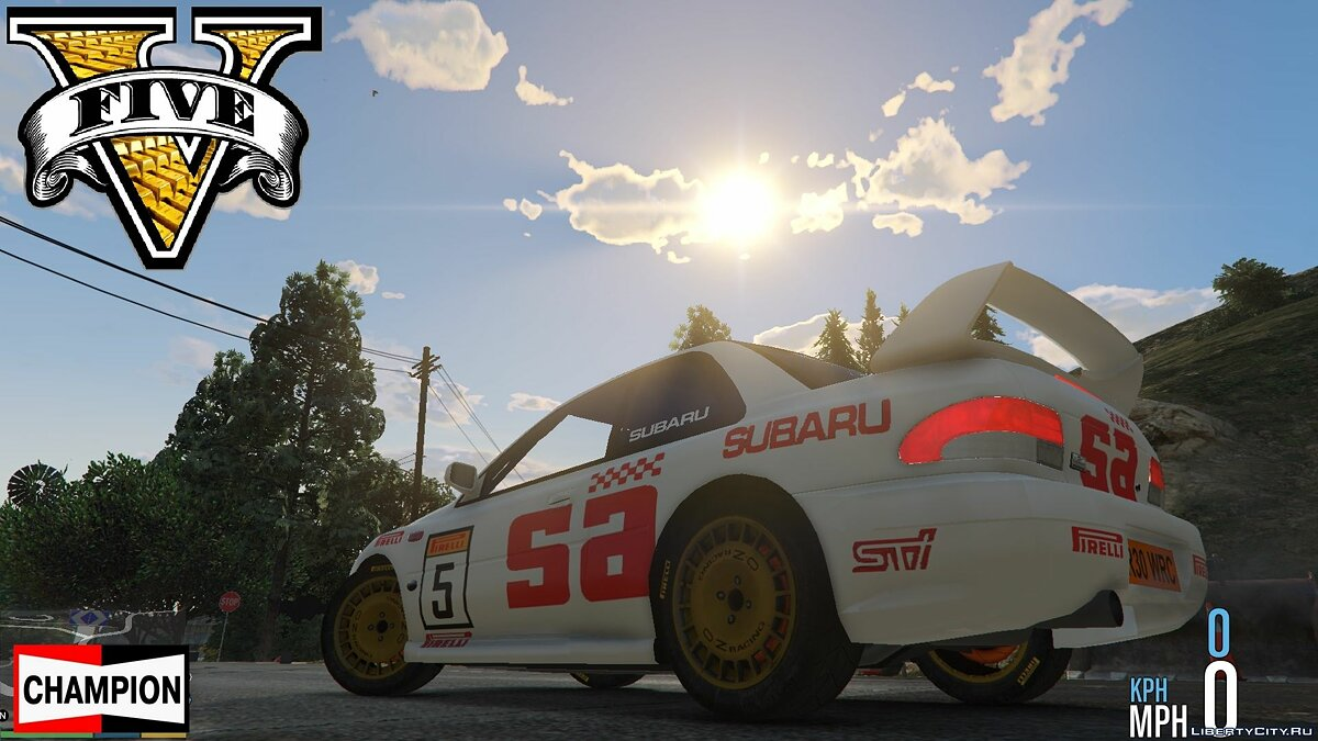 Subaru Rally 98 World Rally Icon DLC WRC [FINAL] для GTA 5
