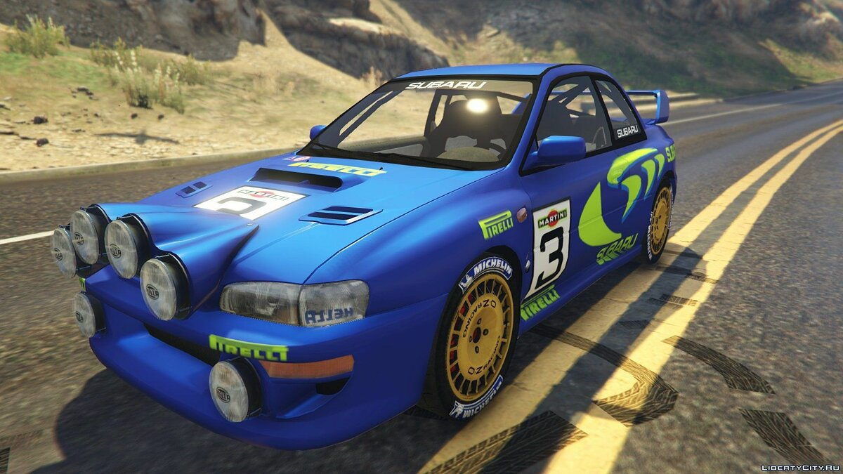 Subaru Impreza WRC 1998 World Rally 2.5 для GTA 5