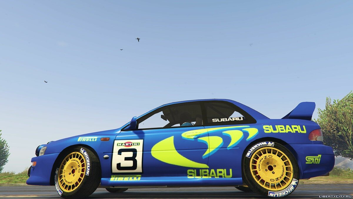 Subaru Impreza WRC 1998 World Rally 2.5 для GTA 5 - скриншот #2