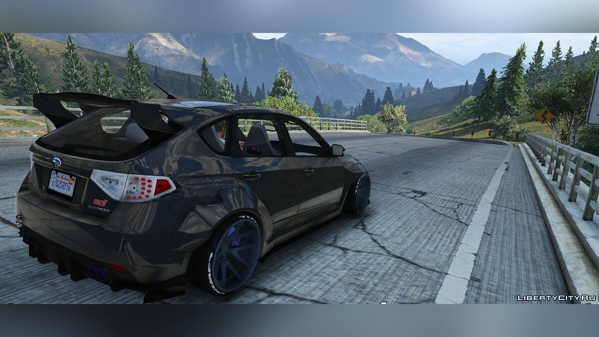 2008 Subaru WRX Widebody [Add-On / Replace] 1.1 для GTA 5 - скриншот #5