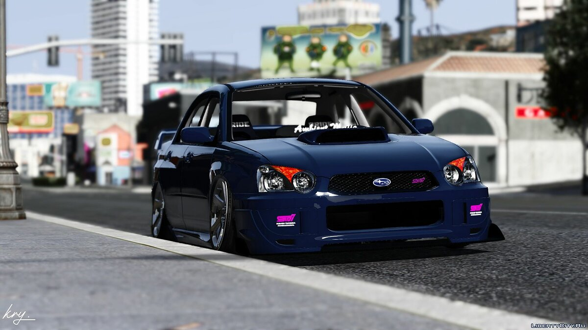 Машина Subaru 2004 Subaru Impreza WRX STI 326 POWER [Add-On | Extras] 1.0 для GTA 5