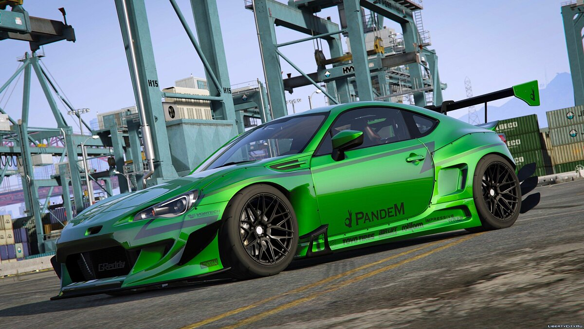 ��ашина Subaru Rocket Bunny V3 BRZ [Add-On] [BETA] для GTA 5