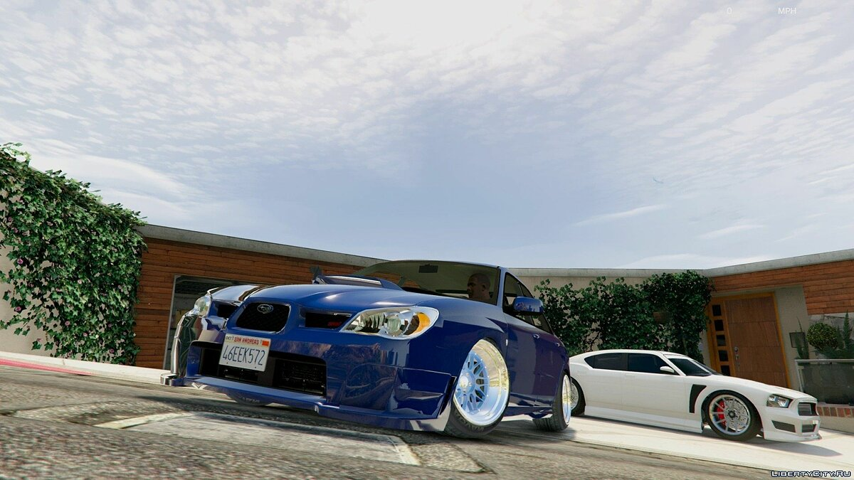 [Cambered] '06 Subaru WRX [Tuning / Add-On] v1.2 для GTA 5