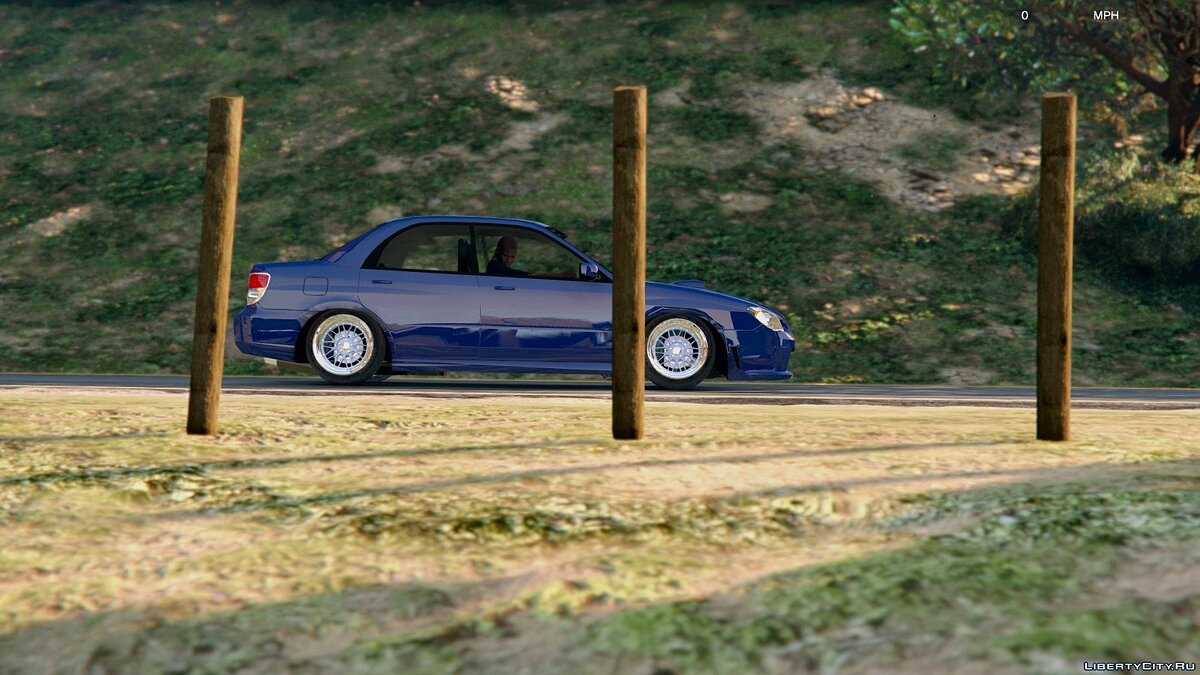[Cambered] '06 Subaru WRX [Tuning / Add-On] v1.2 для GTA 5 - скриншот #2